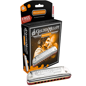 Hohner Golden Melody  Key of F#