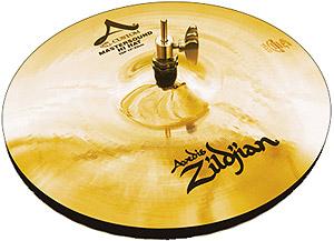 Zildjian A Custom Mastersound HiHats - 13 Inch [A20500]