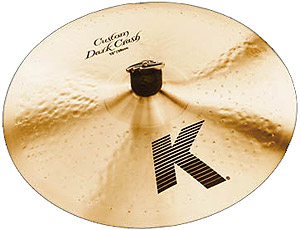Zildjian K Custom Dark Crash - 15 Inch [K0950]