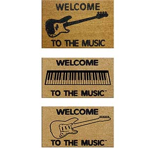 DR Welcome to the Music Doormat