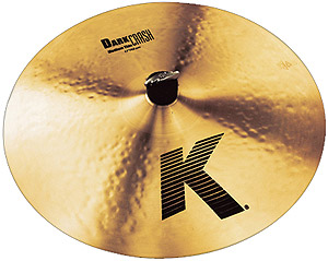 Zildjian K Dark Crash Medium Thin - 16 Inch [K0913]