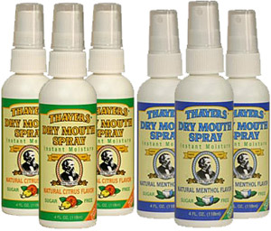 Dry Mouth Vocal Spray 3 Pack