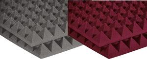 Auralex Studiofoam Pyramid - Twelve 2 Inch, 2x2 Foot Panels