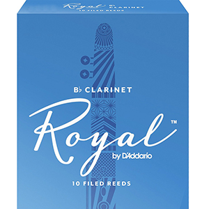 Rico Royal Clarinet Reed - Box of 10