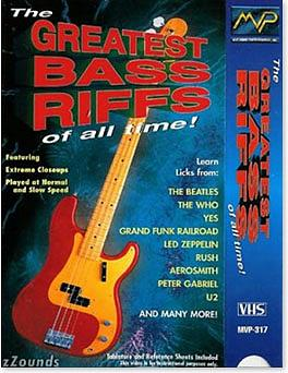 MVP Greatest Bass Riffs of All Time (DVD)