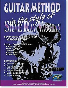 In The Style of Stevie Ray Vaughan Guitar (DVD)
