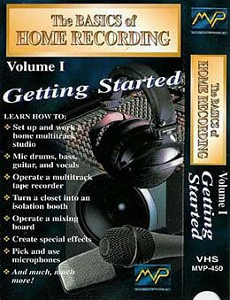 MVP The Basics Of Home Recording Volume 1 (DVD)