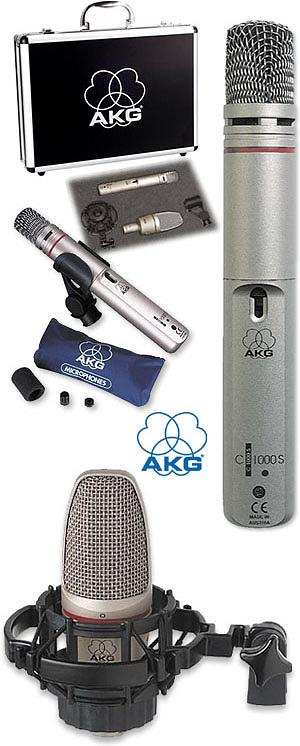 Akg Project Pack w/ Sound Tool Case [PROJECTPACK]