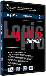 Ask Video Logic Pro 7 Tutorial DVD -  Level 2