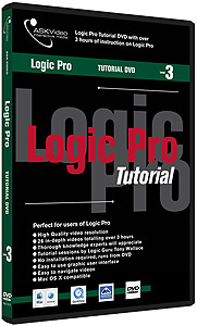 Logic Pro 7 Tutorial DVD -  Level 3