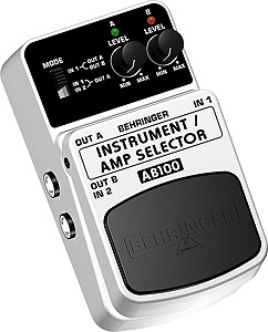 AB100 Instrument/Amp  A/B Footswitch
