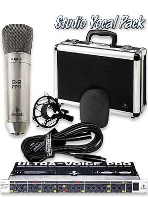 Behringer Studio Vocal Pack