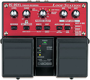Boss RC-20XL Phrase Recorder Loop Station [RC-20XL]