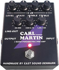 Carl Martin 3 Band Parametric Pre-Amp []
