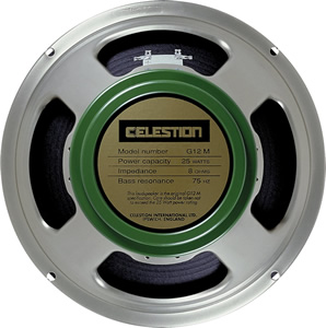 Celestion Greenback G12M  - 16 ohm [T1221/P]