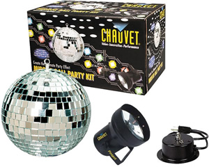 Chauvet MBK-2 Mirror Ball Party Kit [ASYMBK2]