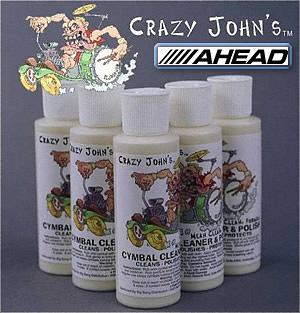 Ahead Crazy Johns Brilliant Cymbal Cleaner And Polish