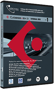 Ask Video Cubase SX3 Level 1 - Tutorial DVD []