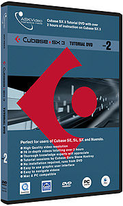 Ask Video Cubase SX3 Level 2 - Tutorial DVD