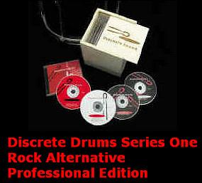Discrete Drums  Series One Pro  12-Disc Set