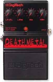 Digitech DDM Death Metal Distortion Pedal [DDM]