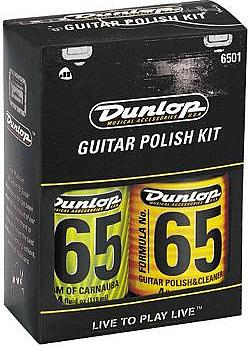 Dunlop Formula 65 Guitar Polish Kit  #6501