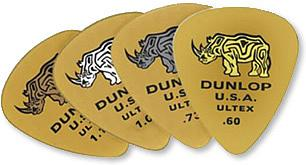 Dunlop 421P Ultex Picks- 1.0MM (6 picks) [421P10]