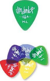 Dunlop Gels Standard Picks - .60MM (12) [486PML60MM]
