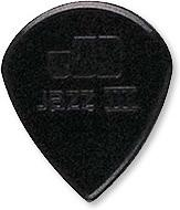 Nylon Jazz III Pick-black (6 picks)