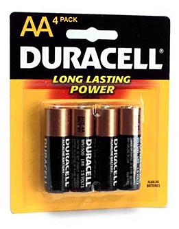 Duracell Duracell AA - 4 Pack