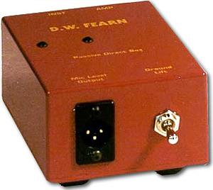 D W Fearn PDB Passive Direct Box