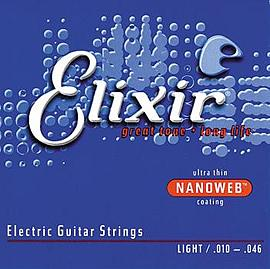 Elixir Nanoweb Electric Strings Light