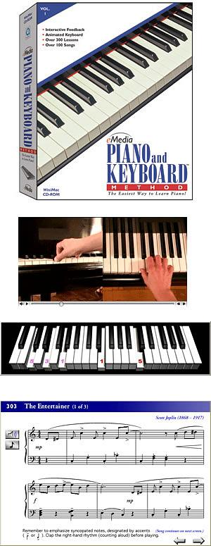 eMedia Piano & Keyboard Method
