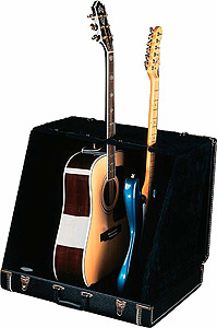 Fender 3 Guitar Case Stand - Black