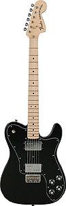 Fender 72 Telecaster Deluxe - Black