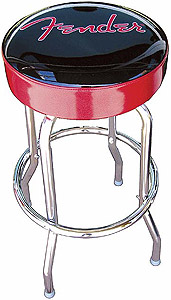 Fender Barstool 24 Inch - Red [0990205020]
