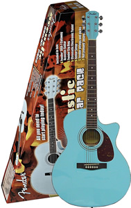 DGA1 Acoustic Guitar Pack - Blue Finish