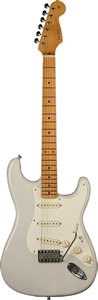 Fender Eric Johnson Stratocaster® White Blonde Finish [0117702801]