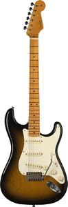 Fender Eric Johnson Stratocaster® 2-Color Sunburst Finish [0117702803]