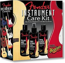 Fender Guitar Care Kit by Meguiars
