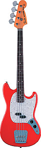 Fender Mustang® Bass - Fiesta Red Finish [0253900540]
