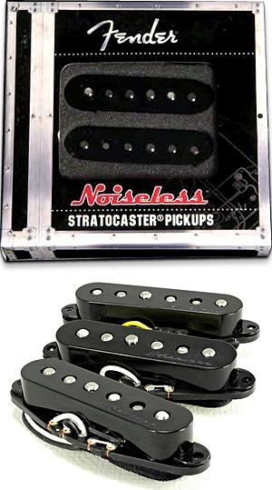 Fender Strat® Noiseless™ Pickup Set Black Color [099-2115-006]