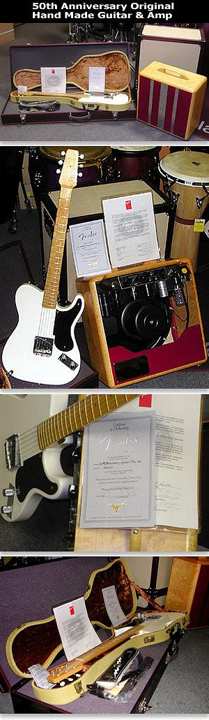 50th Anniversary Fender® Original Guitar & Amp