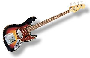 Fender 64 Jazz Bass® Relic® 3 Tone Sunburst [015-1500-800]