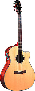 Fender GA45SCE - Natural Finish w/ Case [0954505221]