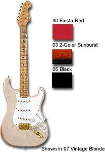 56 Stratocaster® Relic® - 2-Tone Sunburst Gold Hardware
