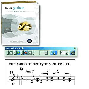 Make Music Finale Guitar  PC Version