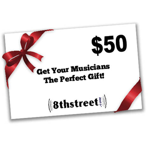 8th Street Music $50 Gift Certificate