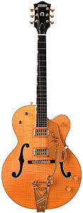 Gretsch G6120 Chet Atkins - Tiger Maple Amber [2401250820]