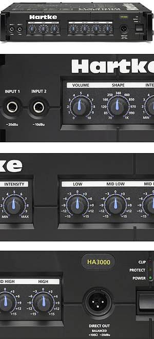 Hartke HA3000 Bass Head